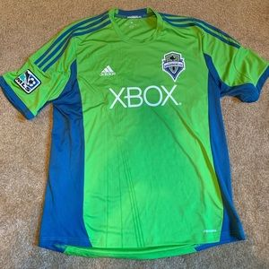 Adidas Official Seattle Sounders Jersey XL